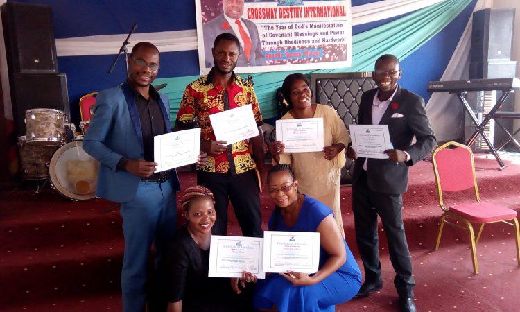 After receiving certificates