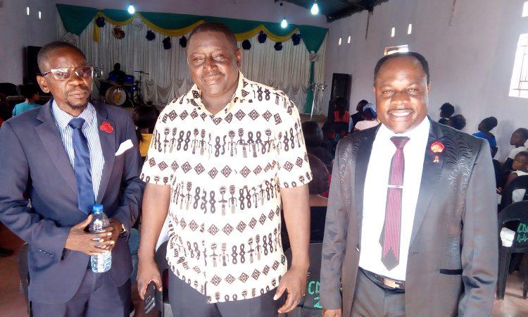 Bishop Bubala with Apostles Matoka and Apostle Musonda